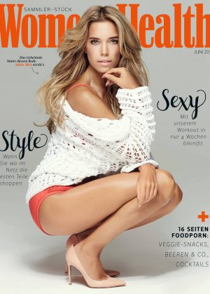Sylvie Meis - Women's Health Germany Cover (June 2016)
