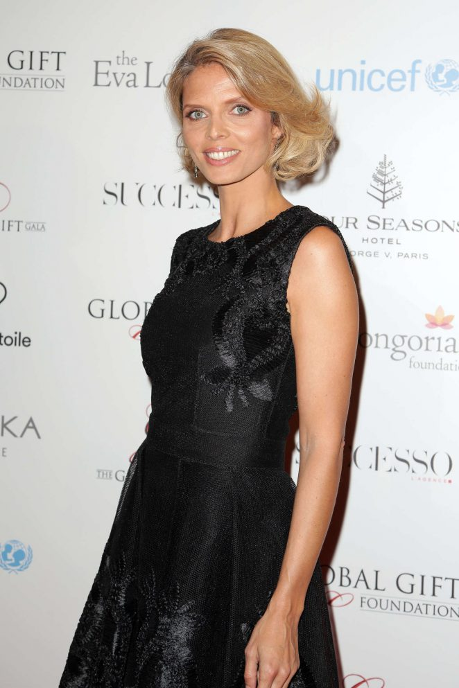 Sylvie Tellier - 7th edition of the Global Gift Gala Dinner in Paris