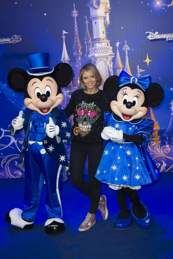 Sylvie Tellier - Disneyland 25th Anniversary Celebration in Paris