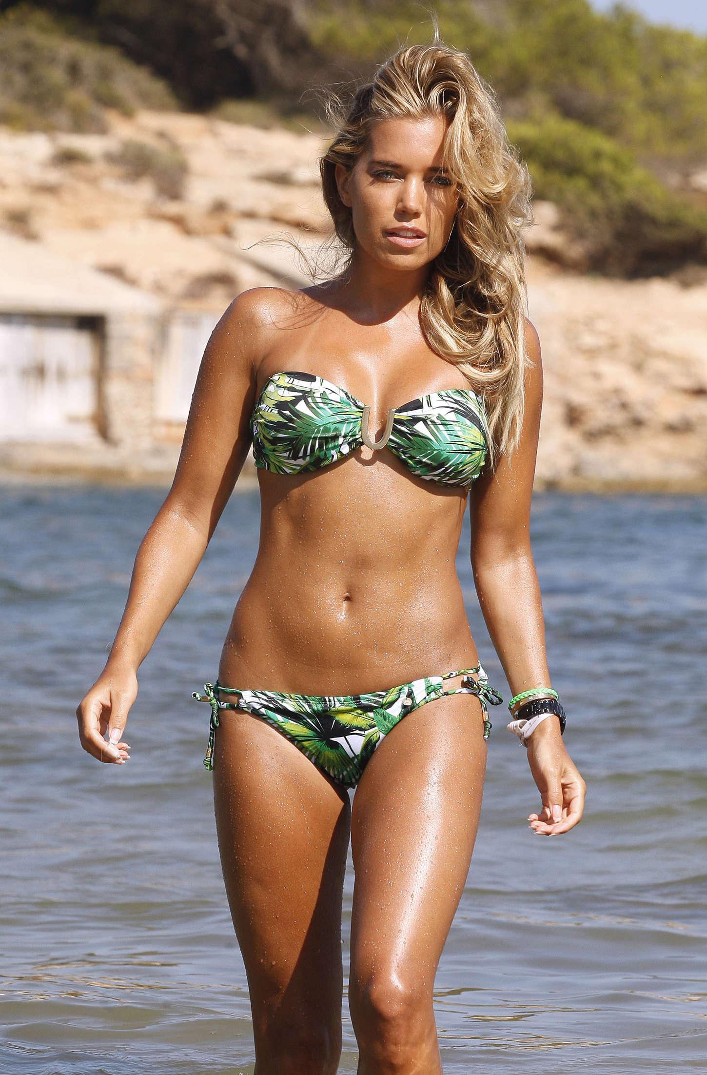 Sylvie Van Der Vaart in Bikini -27 - GotCeleb