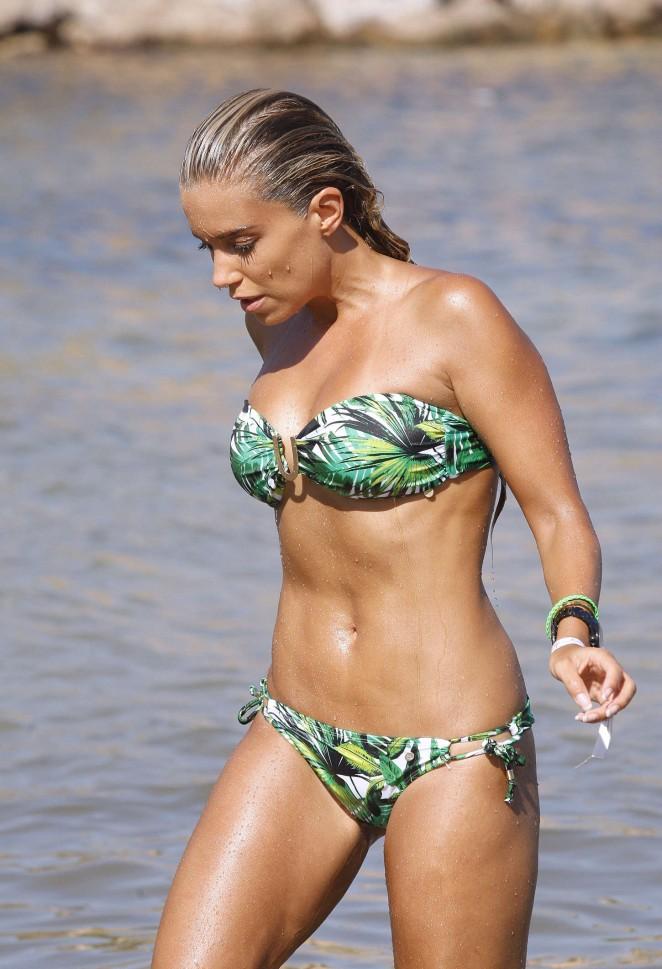 Sylvie Van Der Vaart - Bikini Photoshoot in Ibiza