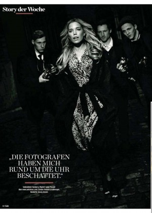 Sylvie Van Der Vaart - Gala Germany Magazine (January 2015)