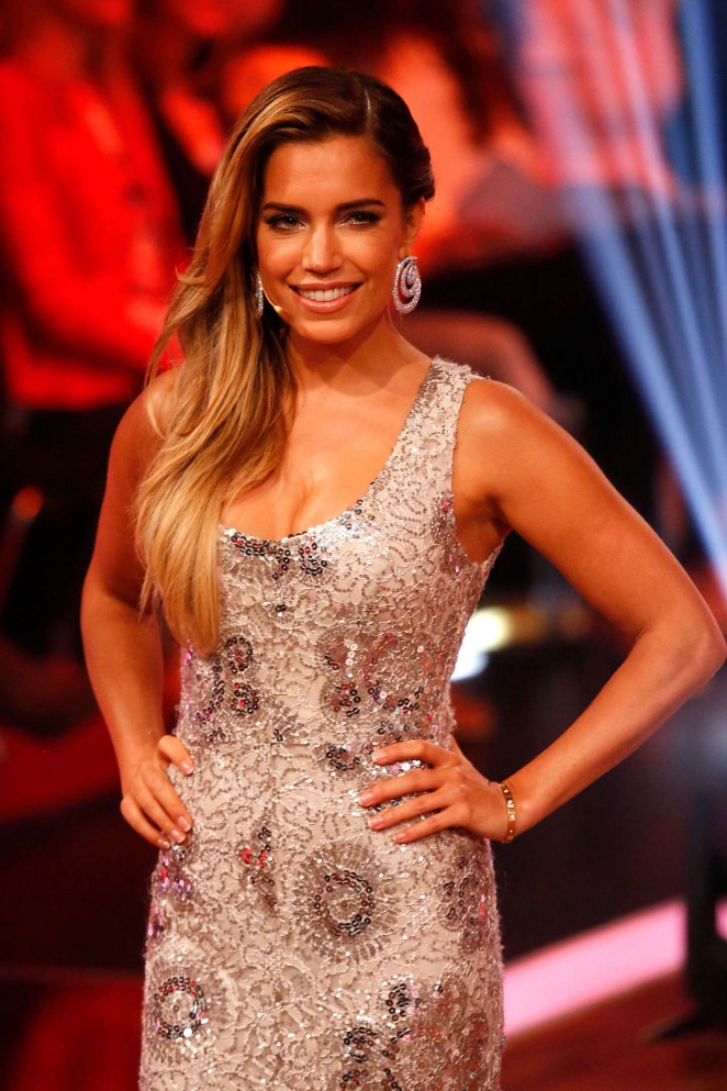 Sylvie Van Der Vaart - Let's Dance 11.Show in Cologne