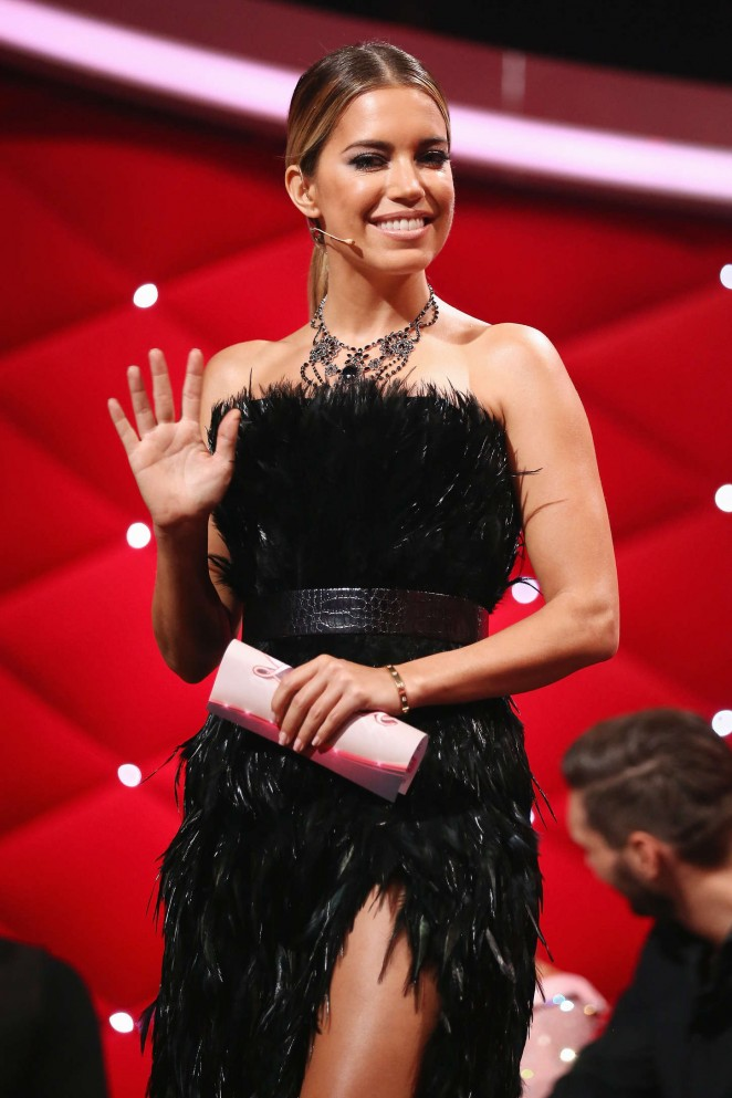 Sylvie Van Der Vaart - Let's Dance Final Show in Cologne