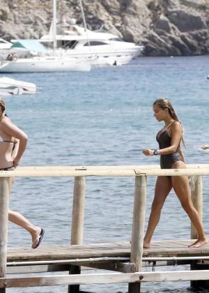 Sylvie Van Der Vaart in Swimsuit -12