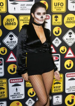 Symon - Just Jared Halloween Party 2016 in Los Angeles
