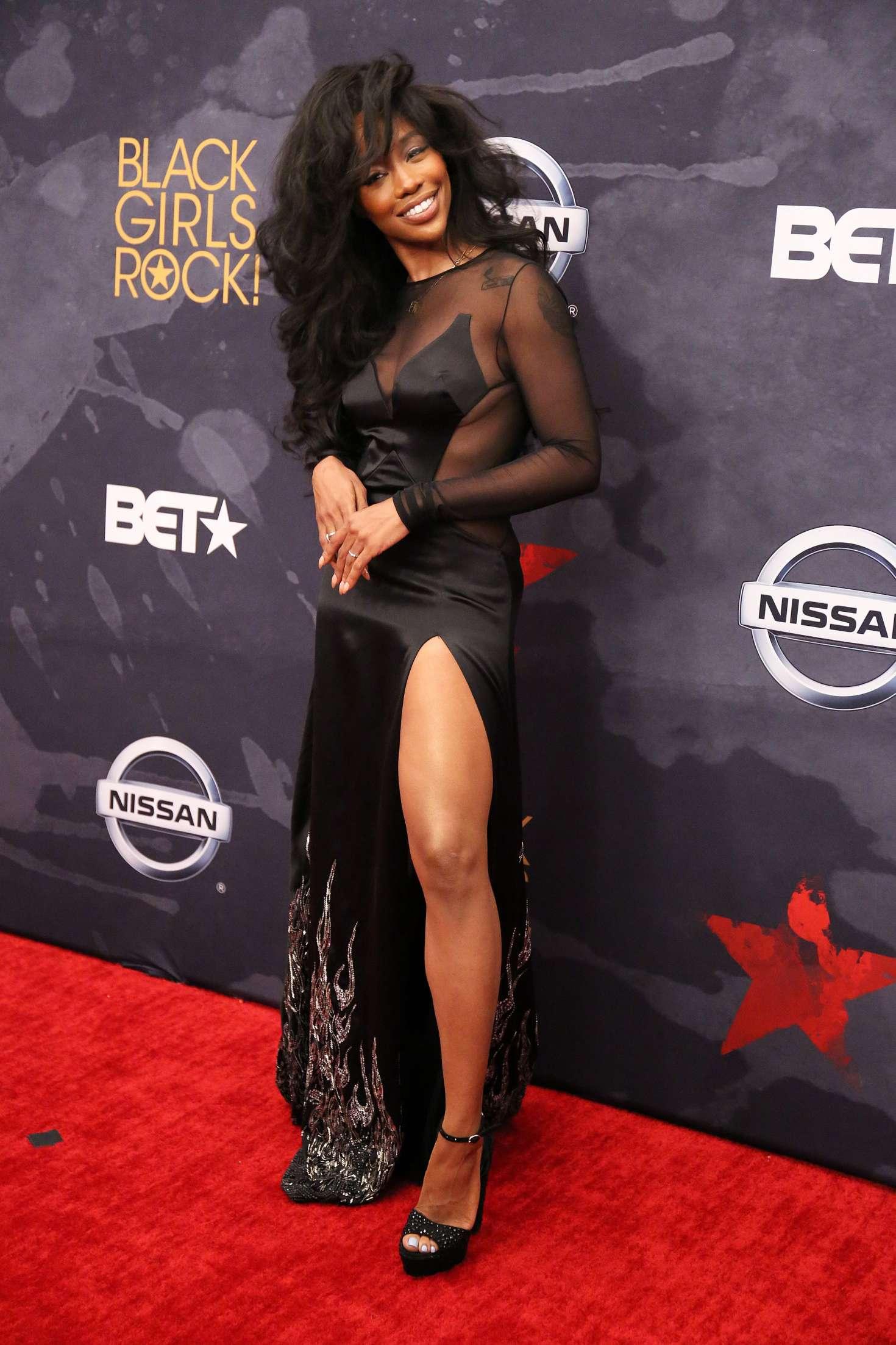 SZA 2017 : SZA: 2017 BET Black Girls Rock -07
