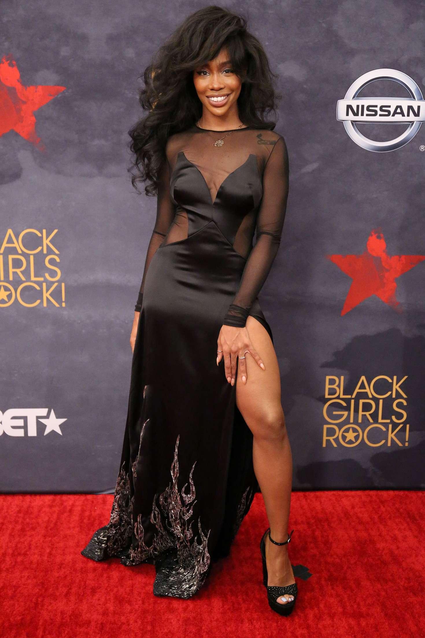 SZA 2017 : SZA: 2017 BET Black Girls Rock -08