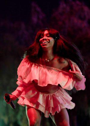 SZA - Performs at 2018 Coachella Festival in Indio