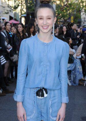 Taissa Farmiga - Rebecca Minkoff Fashion Show 2017 in West Hollywood