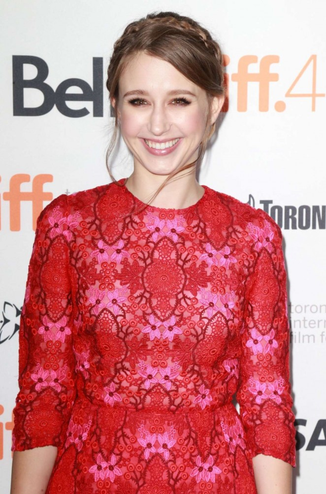 Taissa Farmiga - The Final Girls Party at Toronto Film Festival 2015