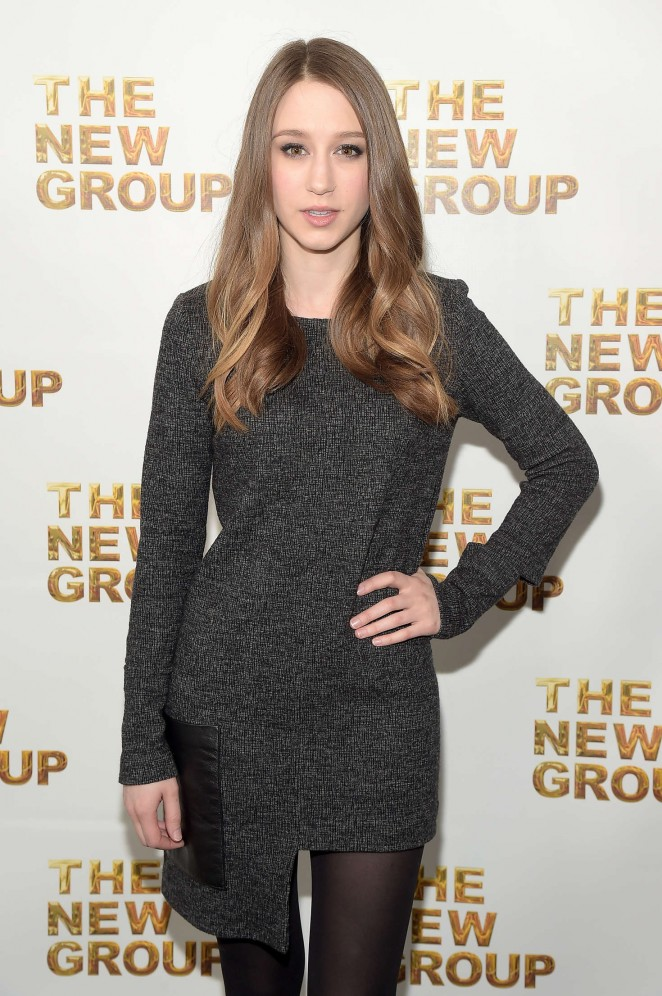 Taissa Farmiga - The New Group Gala 2016 in New York City