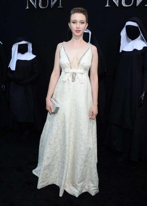 Taissa Farmiga - 'The Nun' Premiere in Los Angeles