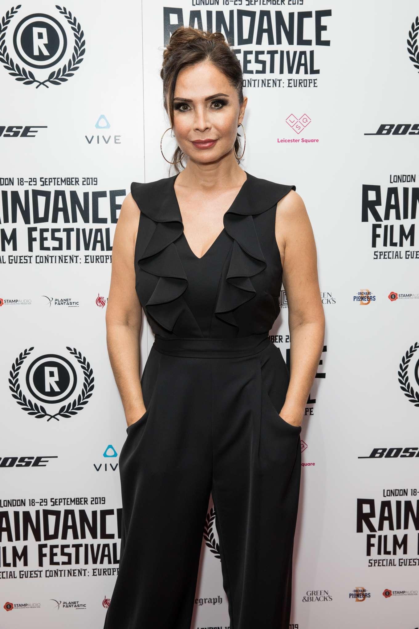 Talisa Garcia - 'Vue West End' Premiere at Raindance Film Festival in London