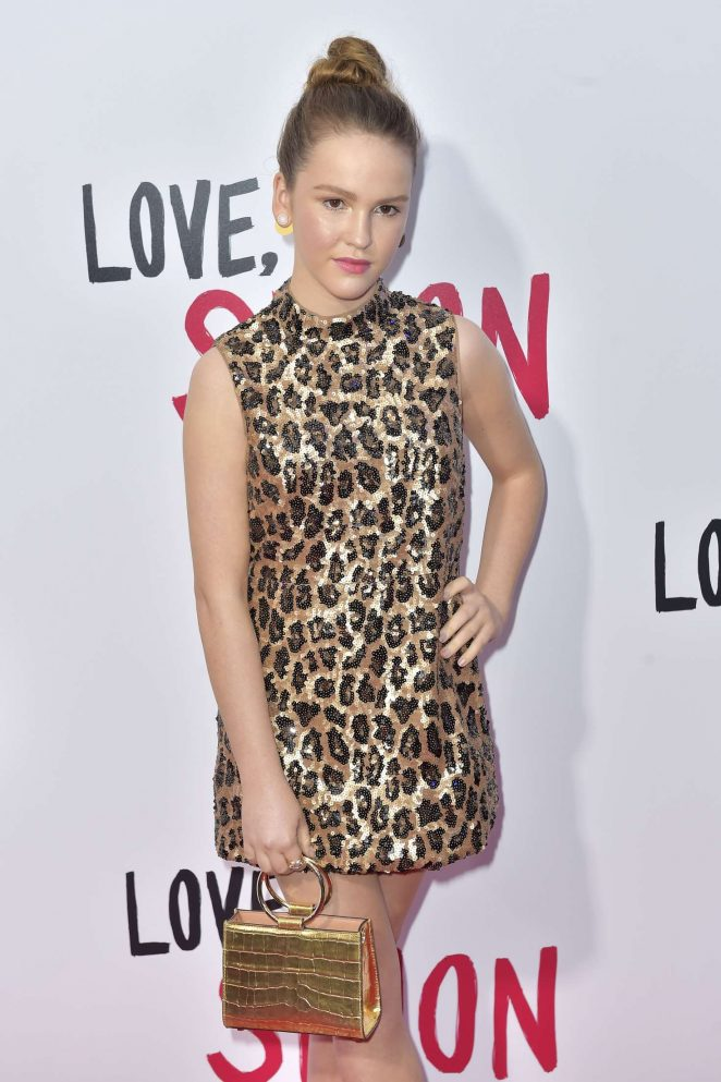 Talitha Bateman – 'Love, Simon' Premiere in Los Angeles