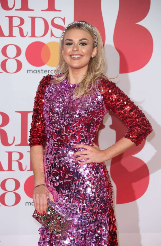 Tallia Storm - 2018 Brit Awards in London