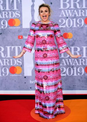 Tallia Storm - 2019 BRIT Awards in London