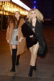 Tallia Storm and Emily Canham - Leaving Top Gear Series 28 TV Premiere in London