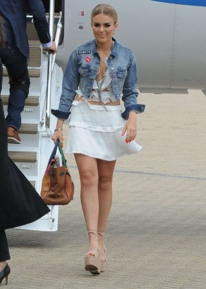 Tallia Storm - Arrives at Jersey Style Awards in Jersey
