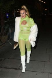 Tallia Storm - Arriving at the Halloween Party in London