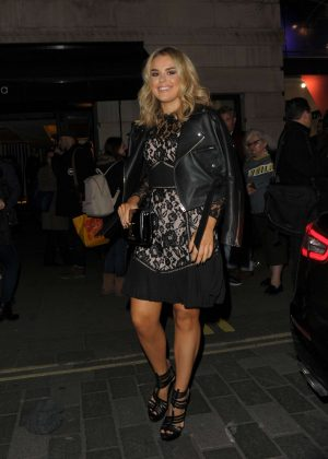 Tallia Storm at London Fashion Week Event in London