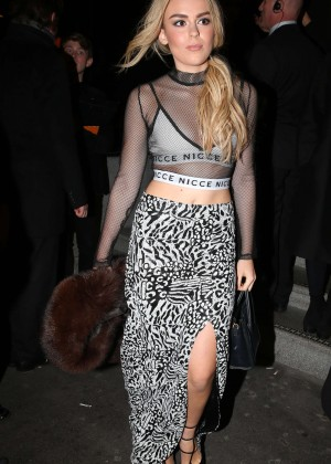 Tallia Storm at the launch of 100 Wardour Street in London