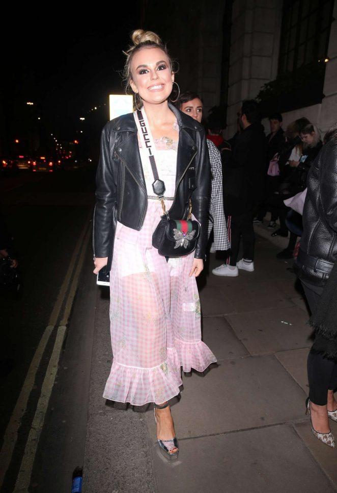 Tallia Storm - Attending at Wonderland Magazine x MTV Party in London