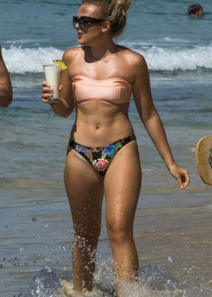 Tallia Storm - Bikini Candids in Bridgetown