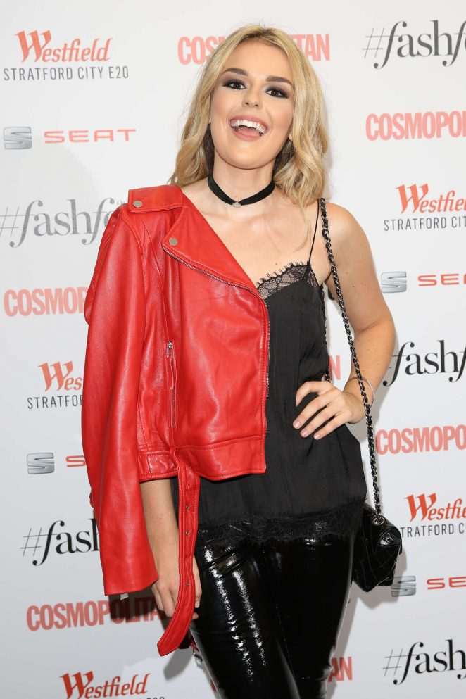 Tallia Storm - Cosmopolitan #Fashfest 2016 VIP Show and Party in London
