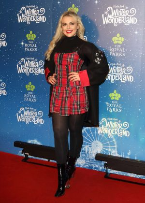 Tallia Storm - Hyde Park Winter Wonderland VIP Launch in London