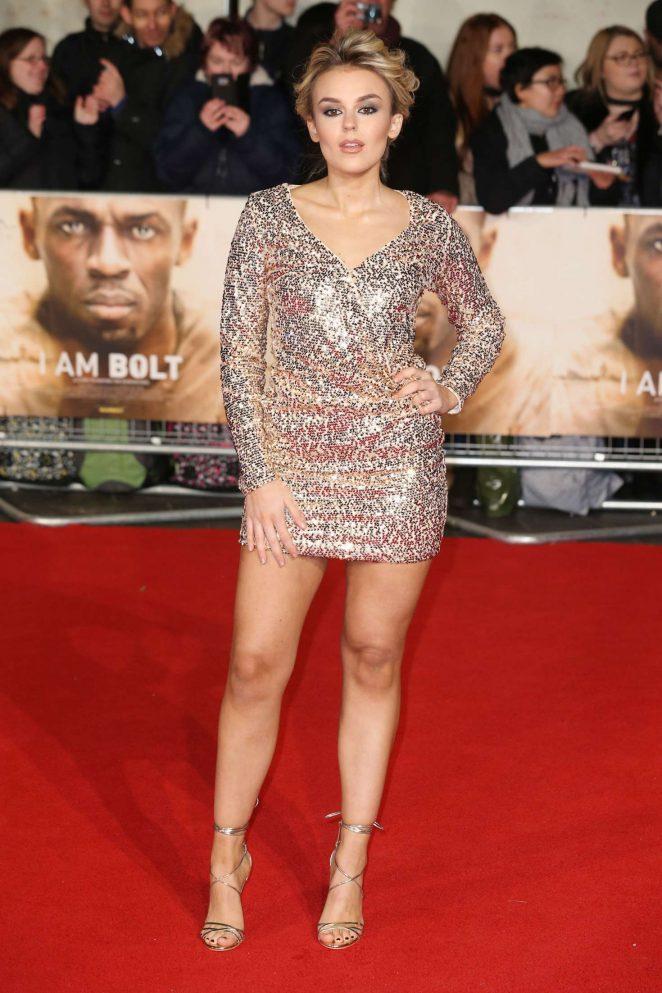 Tallia Storm - 'I Am Bolt' Premiere in London