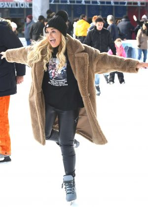 Tallia Storm - Ice skating in New York City