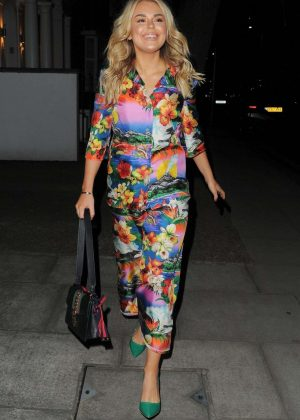 Tallia Storm in Floral Print Dress - Night Out In London