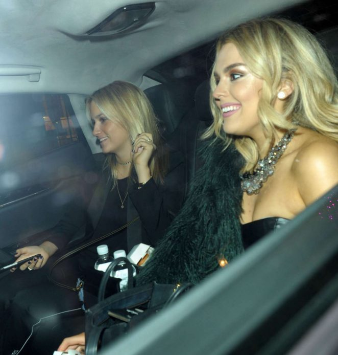 Tallia Storm - Leaving Maybelline - Bring on the Night party in London
