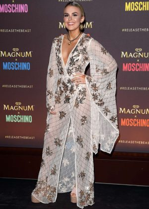 Tallia Storm - Magnum x Moschino Party at 70th Cannes Film Festival
