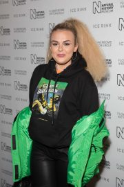 Tallia Storm - Natural History Museum Ice Rink Launch Party in London