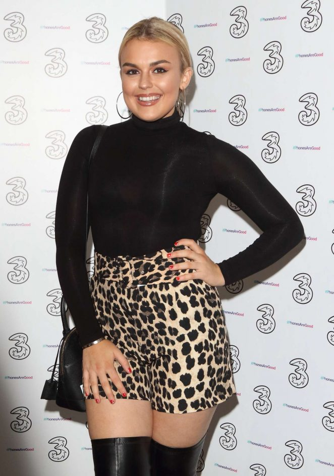 Tallia Storm - Portr8's Three Mobiles VIP Gallery Launch in London