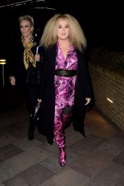Tallia Storm - Seen arriving at Good Morning Britain in London