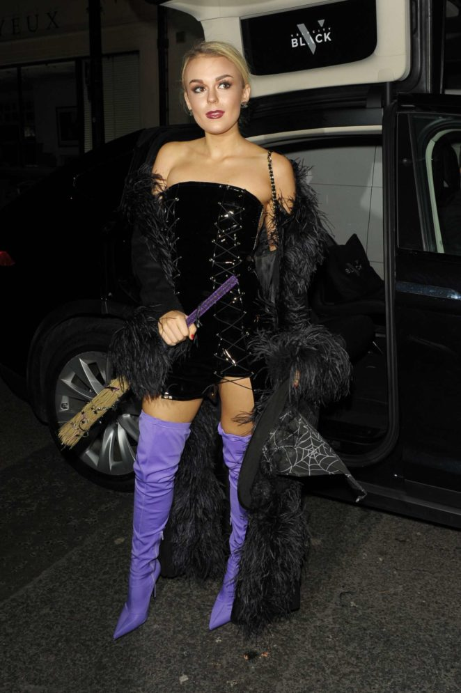 Tallia Storm - Velocity Black Halloween party in London