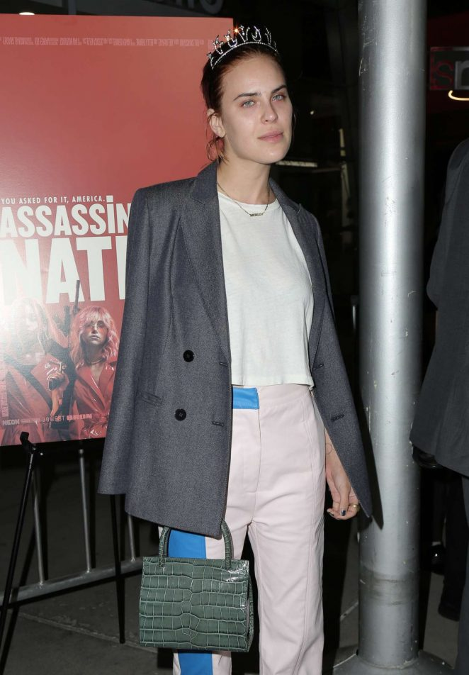 Tallulah Willis – 'Assassination Nation' Premiere in Los Angeles