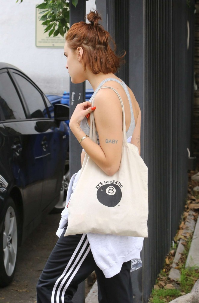 Tallulah Willis 2016 : Tallulah Willis in Sports Bra Leaves a Gym -10