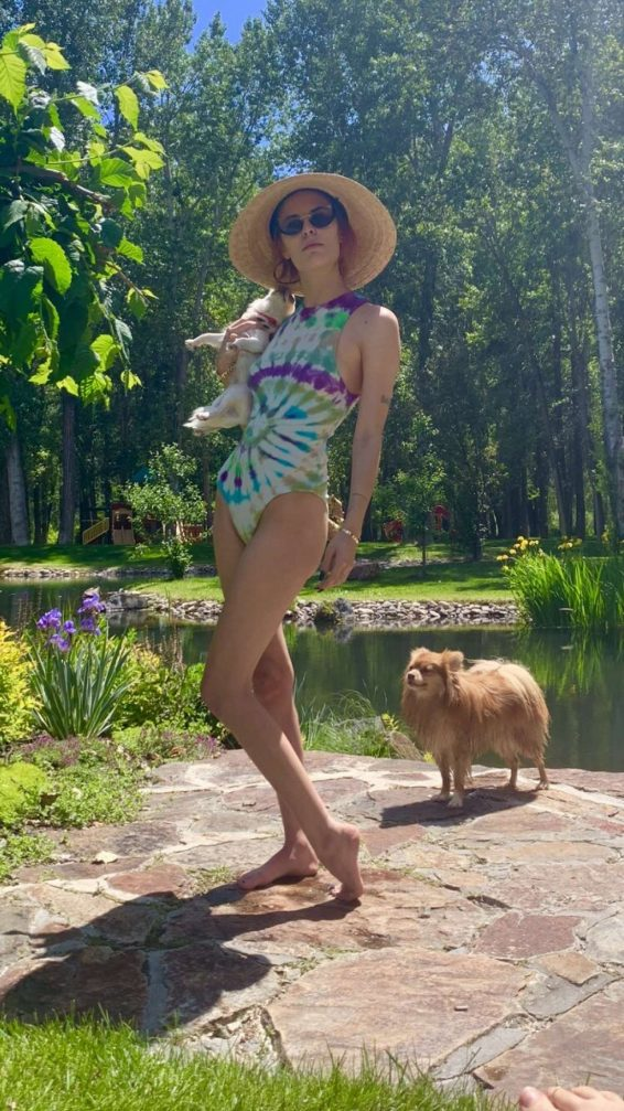 Tallulah Willis in Swimsuit - Personal