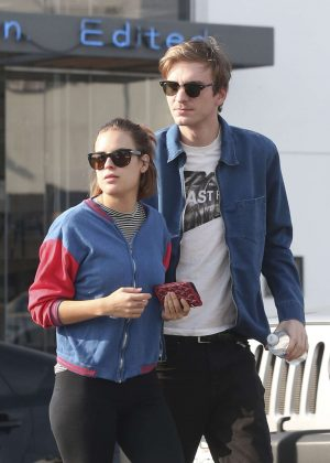 Tallulah Willis Shopping with her boyfriend in Hollywood