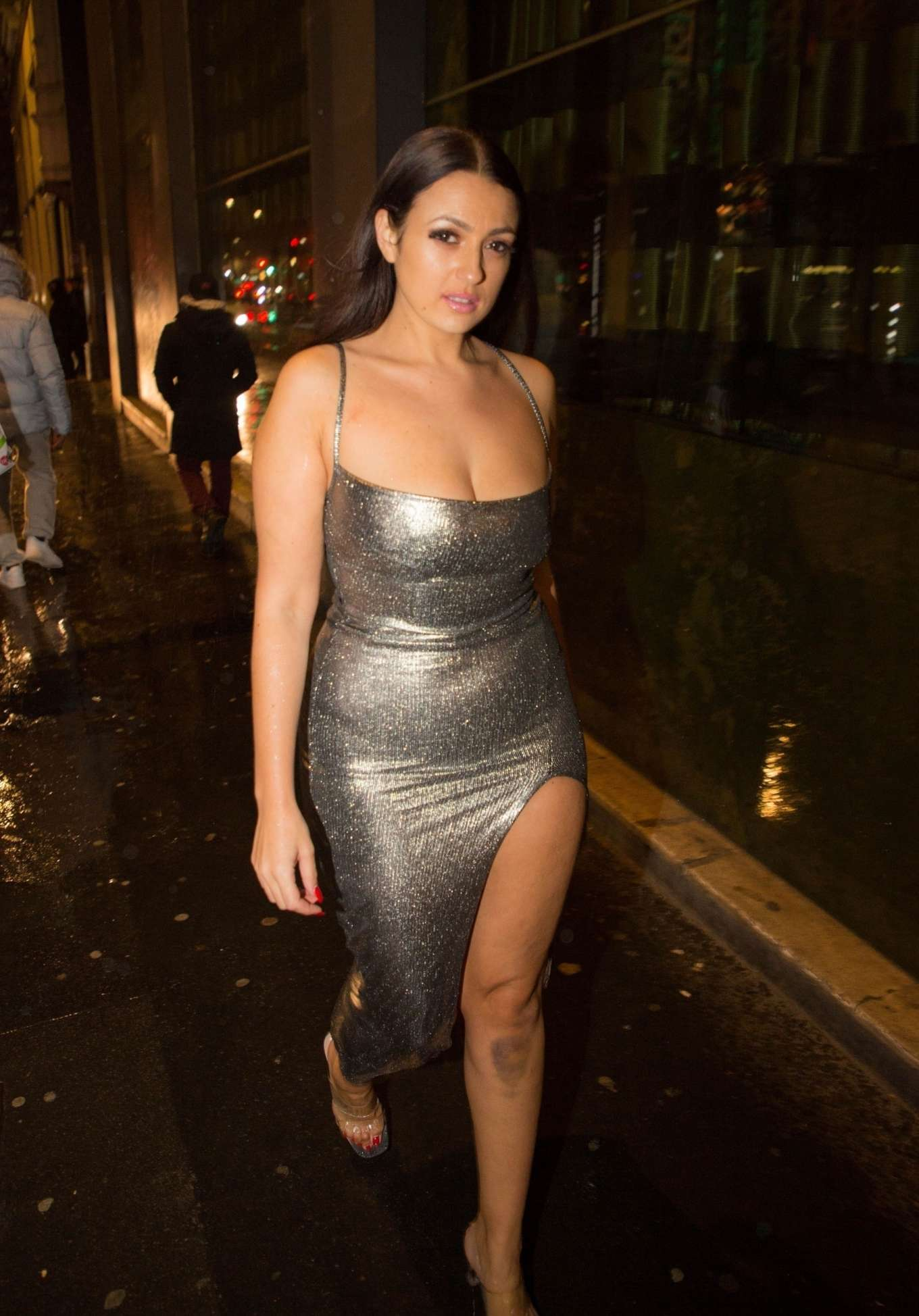 Talulah Eve 2019 : Talulah Eve and Amel Rachedi – Night out in London-08