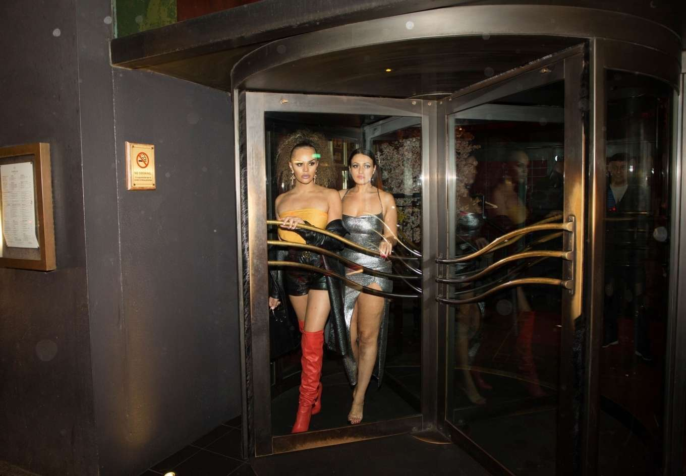 Talulah Eve 2019 : Talulah Eve and Amel Rachedi – Night out in London-10