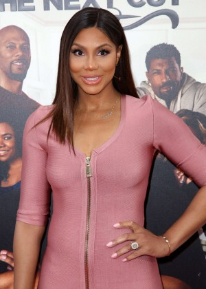 Tamar Braxton - 'Barbershop: The Next Cut' Premiere in Hollywood