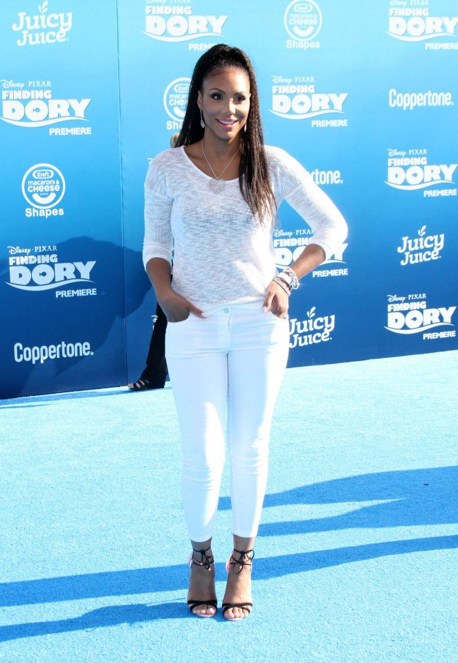 Tamar Braxton - 'Finding Dory' Premiere in Hollywood