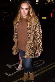 Tamara Ecclestone - Arriving at Nativity The Musical in London