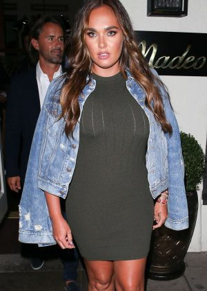 Tamara Ecclestone at Madeo restaurant in Beverly Hills