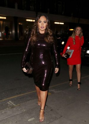 Tamara Ecclestone at Sumosan Twiga Restaurant in London